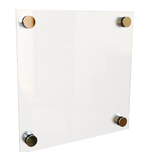 Best-Rite® Enlighten 1' x 1' Glass Board
