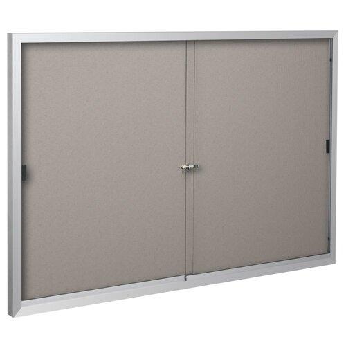 Best-Rite® Standard Bulletin Board Cabinets - 2 Sliding Doors