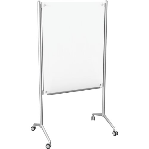 Best-Rite® Enlighten Mobile 4' x 3' Glass Board
