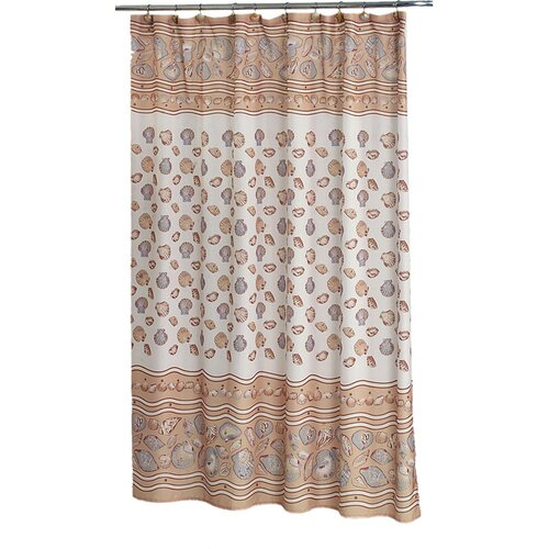 Carnation Home Fashions South Beach Polyester Shower Curtain