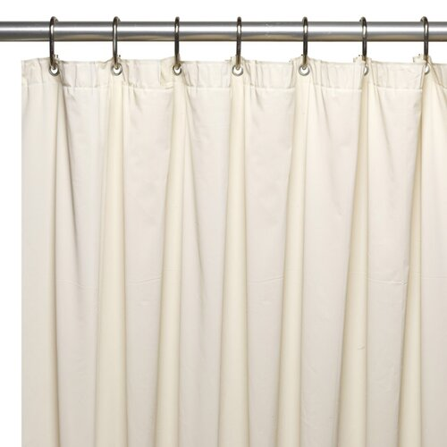 carnation home fashions extra long 5 gauge vinyl shower