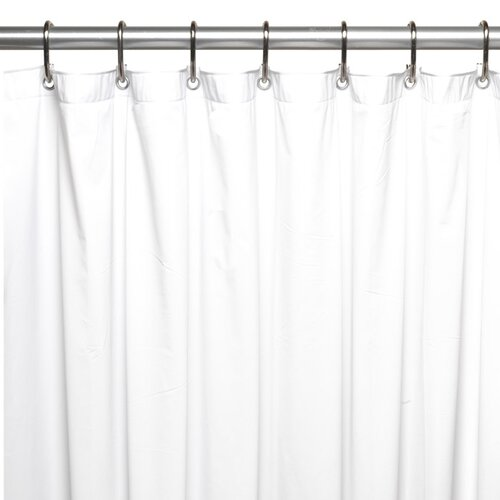 Carnation Home Fashions Stall Size Vinyl Shower Curtain Liner Reviews Wayfair