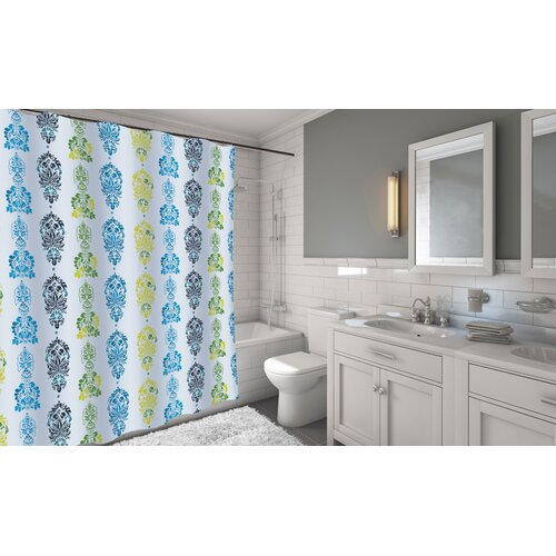 Carnation Home Fashions Shower Curtain Carnation Home Fashions Olivia