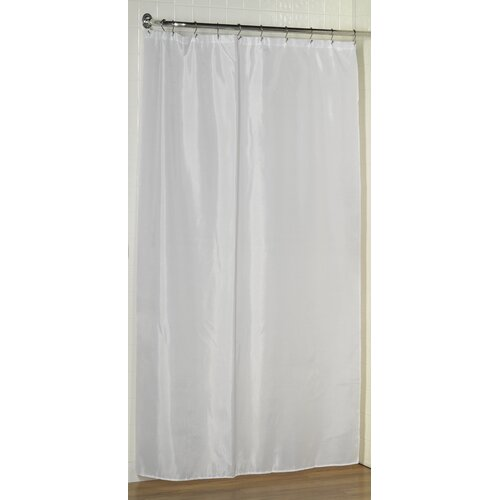 Stainless Steel Air Curtain Clear Shower Curtain Liner