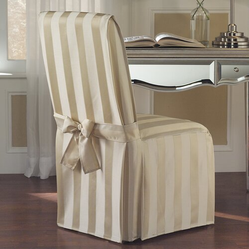 United Curtain Co. Madison Parson Chair Slipcover