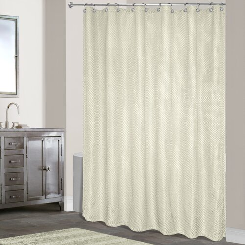 United Curtain Co Hamden Polyester Shower Curtain