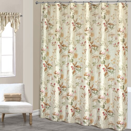 United Curtain Co. Chantelle Polyester Shower Curtain