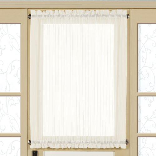 United Curtain Co Monte Carlo Single Window Scarf