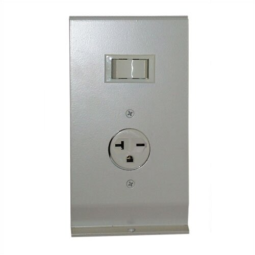 TPI Hydronic / Architectural Style Baseboard Air Conditioning Receptacle