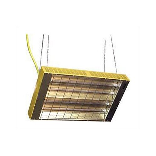 TPI Suspended Quartz Tube Infrared Ceiling Mount Space Heater