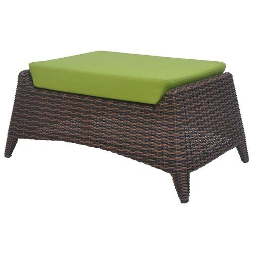 David Francis Furniture Rio Ottoman with Cushion