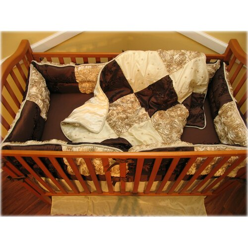 Ozark Mountain Kids Chocolate Dreams 4 Piece Crib Bedding Set
