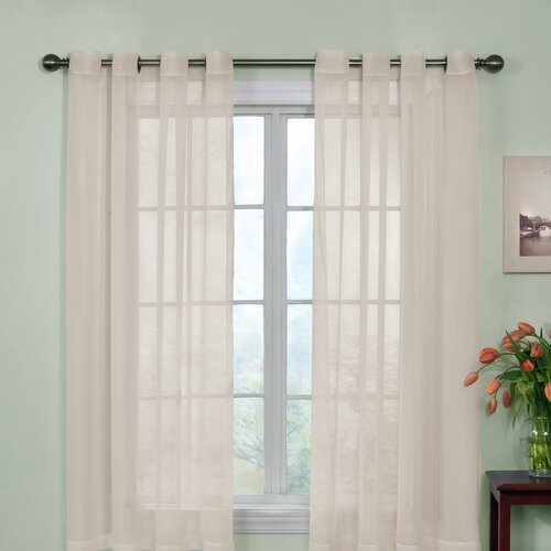 Arm & Hammer™ Curtain Fresh™ Odor-Neutralizing Voile Grommet Curtain Single Panel