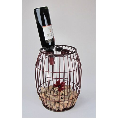 Metrotex Designs Industrial Evolution 3 Bottle Tabletop Wine Rack