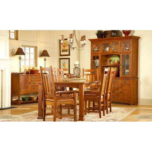 Mastercraft Collections Prairie Mission Side Chair
