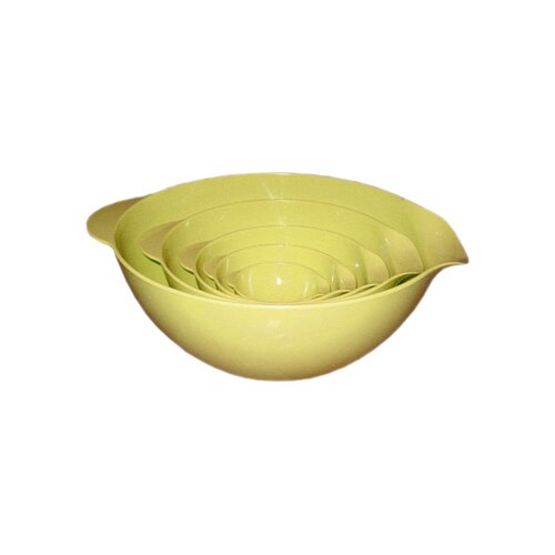 Reston Lloyd Calypso Basics Melamine 5 Piece Mixing Bowl Set
