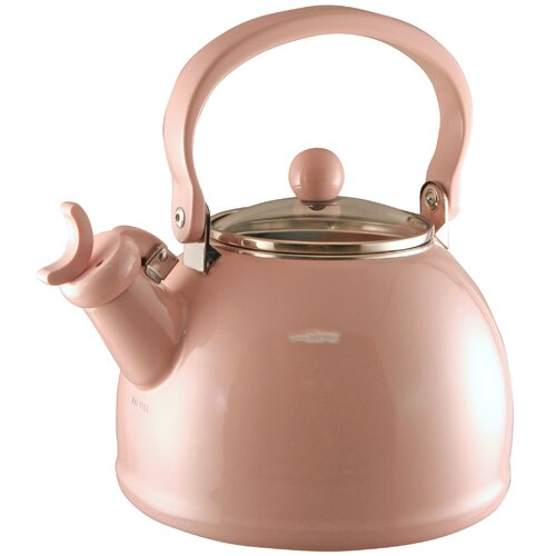 Calypso Basic 2-qt. Whistling Tea Kettle