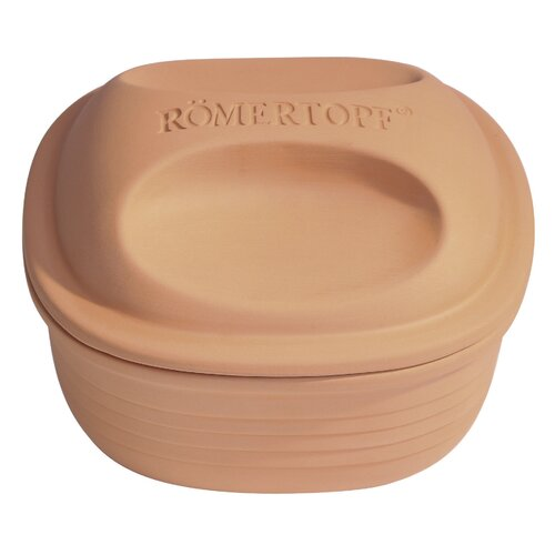 Romertopf 2-qt. Oval Braiser with Lid