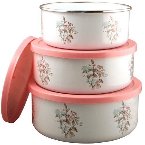 Corelle Coordinates 3 Piece Storage Bowl Set