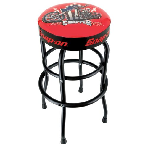 "Snap-on™ ""Official Licensed Product Snap-on™ ""Official Licensed Product Shop Stool with Black Legs - Choppier"