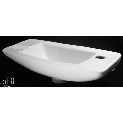Alfi Brand Small Wall Mount Bathroom Sink