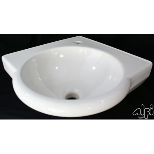 Corner Wall Mount Bathroom Sink