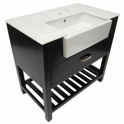 """Alfi Brand 35"""" Single Bathroom Vanity Set"""