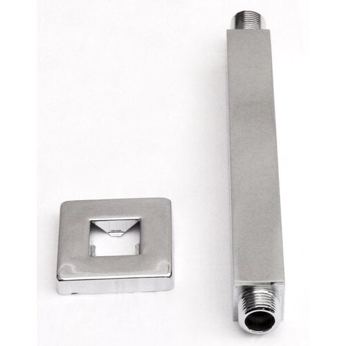 "Alfi Brand 8"" Square Ceiling Mounted Shower Arm for Rain Shower Heads"