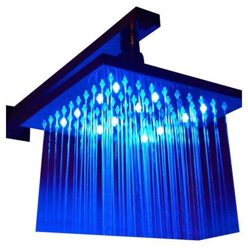 "Alfi Brand 10"" Square LED Rain Shower Head"