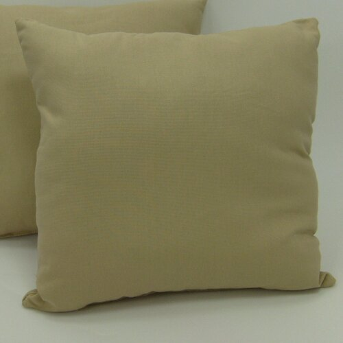 American Mills Solid Pillow (Set of 2)