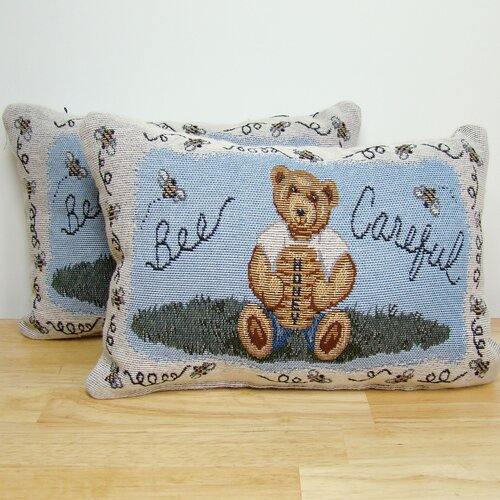 American Mills Bee Careful Pillow
