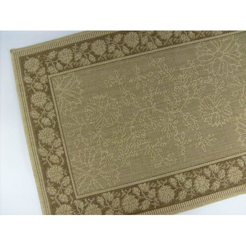 American Mills Summer Vine Honey/Chocolate Indoor/Outdoor Rug