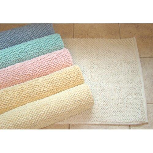 American Mills Pebble Cotton Bath Mat