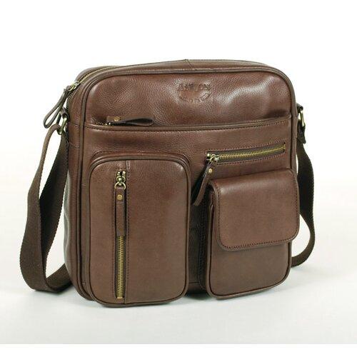 Multi Pockets Top Zipper Shoulder Bag