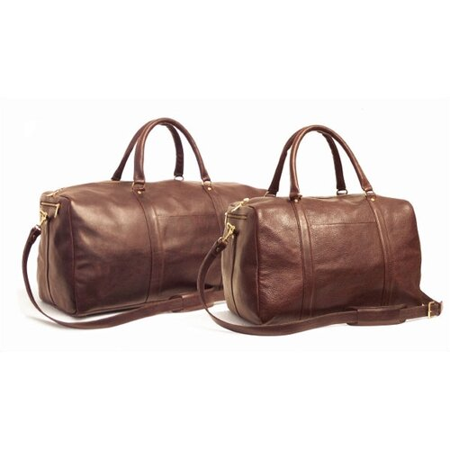 "Aston Leather 24"" Leather Travel Duffel"