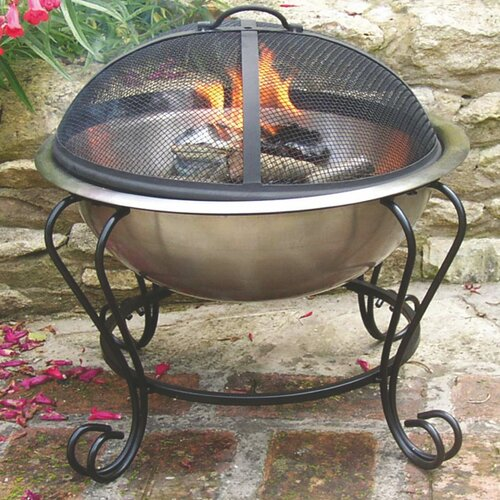 Unique Arts Stainless Steel Fire Pit
