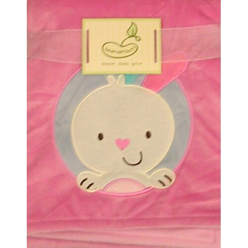 2 Ply Bunny Crib Throw Blanket