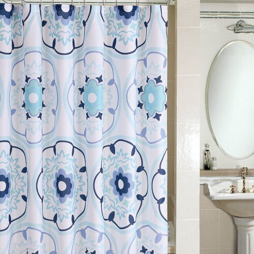 Metro Microfiber Shower Curtain