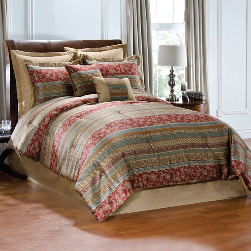 Hickory Street Queen Comforter Set with 4 Bonus Pieces
