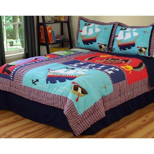 Pirate Treasure Quilt Set