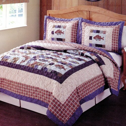 Timber Trails Swimming Up Stream Quilt Set