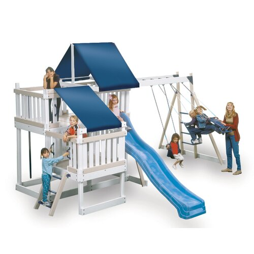 Kidwise Congo Monkey White and Sand Playsystem 2