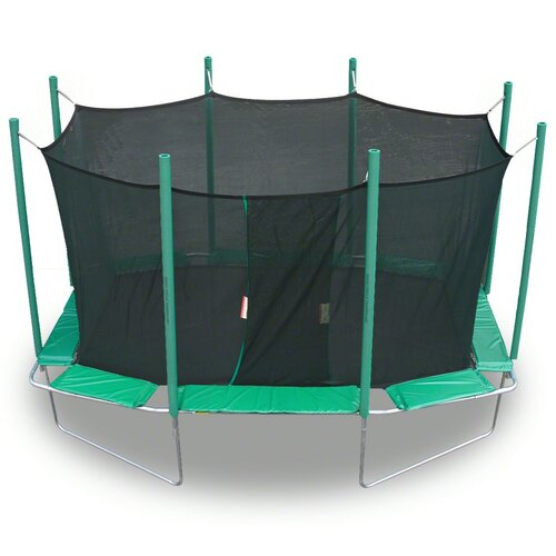 Kidwise 9 x 14 ft. Rectagon Trampoline with Enclosure