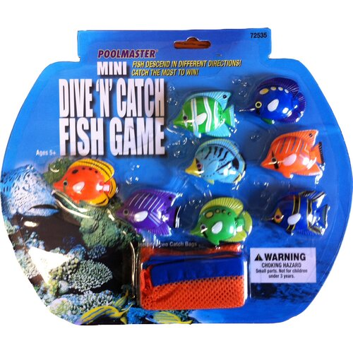 Poolmaster Mini Dive and Catch Fish Game