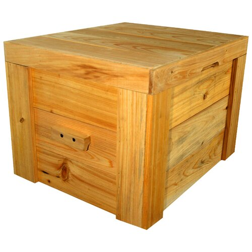 Wood Plain Deck Box