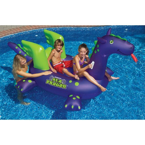 Sea Dragon Ride Pool Toy