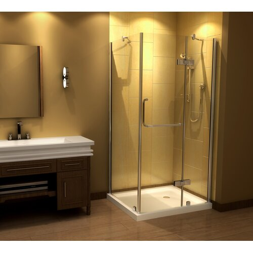 Aston Pivot Door Frameless Shower Enclosure