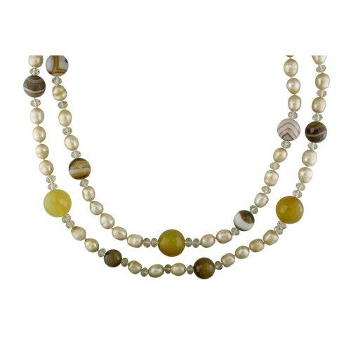 Smokey Quartz Beads Necklace