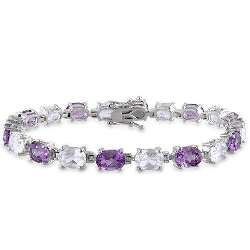 Oval Cut Sapphire Link Bracelet