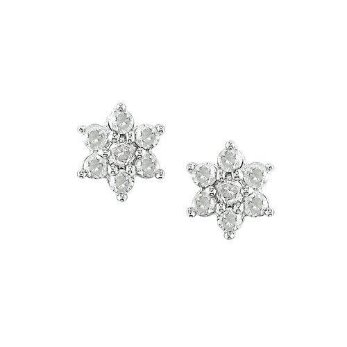 Round Cut Diamond Stud Earring